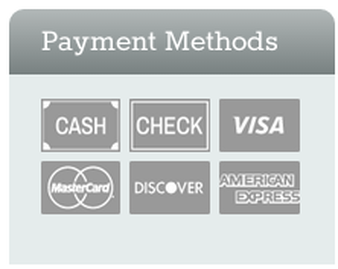 payment methods visa amex